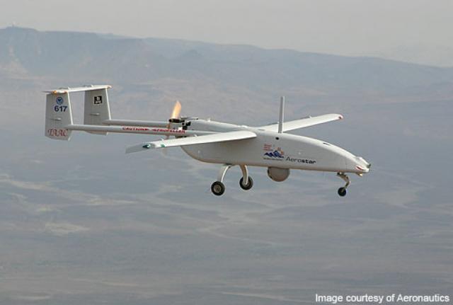 Израильский тактический беспилотник Aerostar