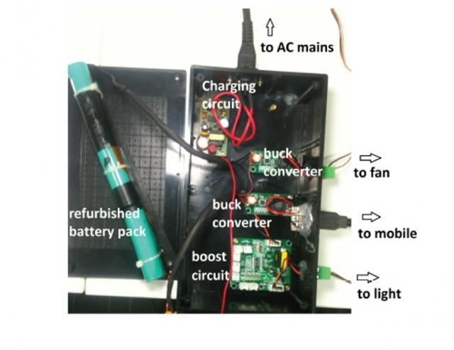 Старые батареи от ноутбуков получают вторую жизнь, обеспечивая энергию бедным