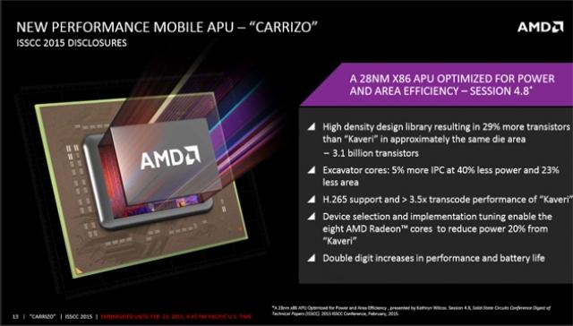 Новый процессор AMD для ноутбуков призван улучшить автономность