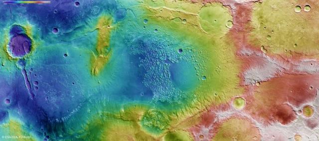 Полет над Марсом в этой новой анимации. Атлантида реальна