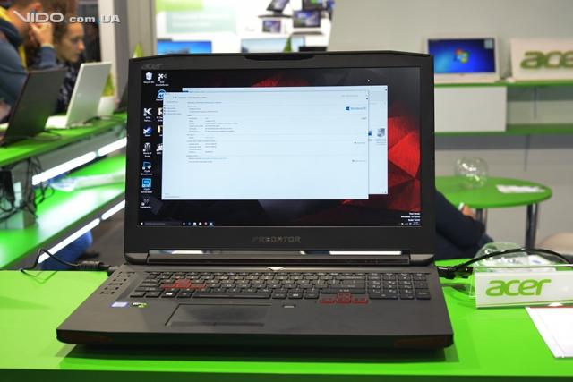 Новые ноутбуки на выставке CEE 2015