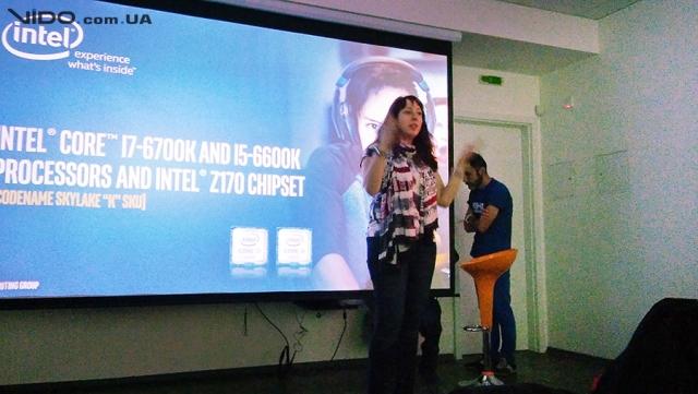 В Киеве представили процессоры Intel Core 6-го поколения и материнские платы на базе нового чипсета Z170