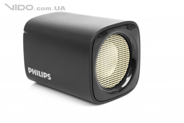 Обзор беспроводной колонки Philips BT100: музыка в кармане