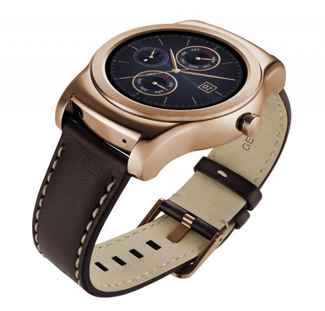 Cтильные умные часы LG Watch Urbane