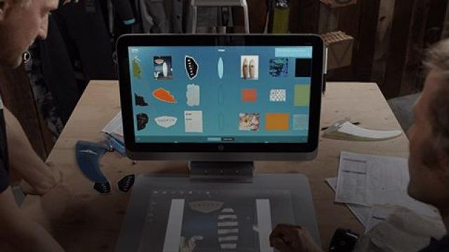 Компьютер HP Sprout получит возможность 3D-сканирования