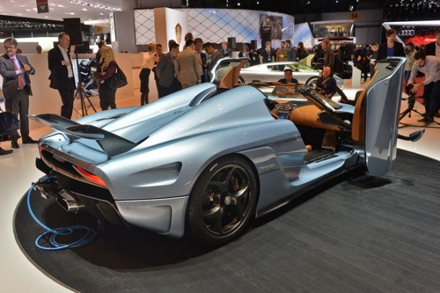 Гиперкар Koenigsegg Regera на 1500 л.с. объявлен в Женеве