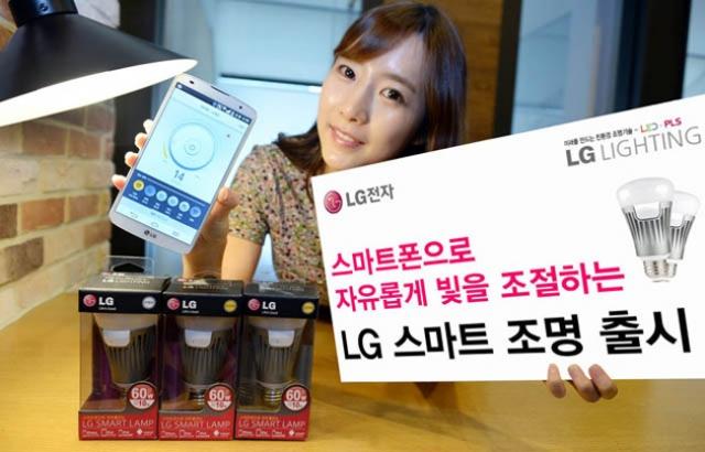 Умные лампочки LG Smart Lamp реагируют на входящие звонки