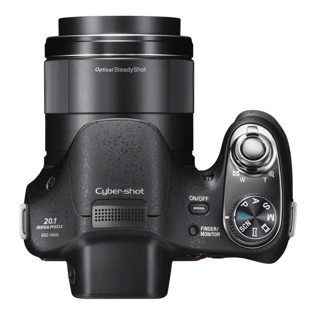 Sony Cyber-shot H400 с 63-кратным зумом