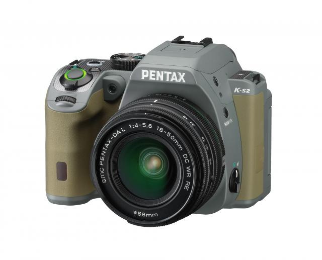 Pentax K-S2- новая защищенная камера в компактном корпусе с модулем беспроводной передачи данных