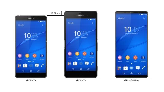 В сети появились первые официальные фото Sony Xperia Z4 и Xperia Z4 Ultra