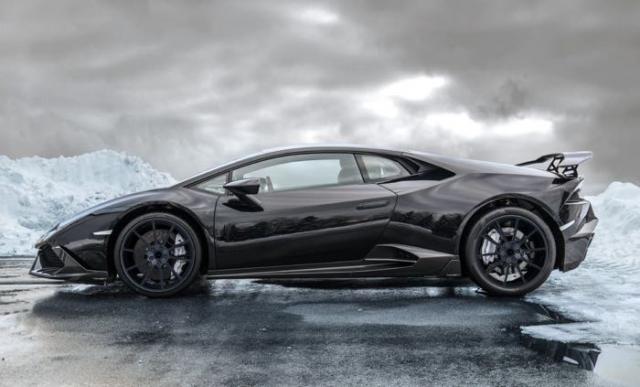 Lamborghini Huracan на 838 л.с. от тюнинг-фирмы Mansory дебютирует в Женеве
