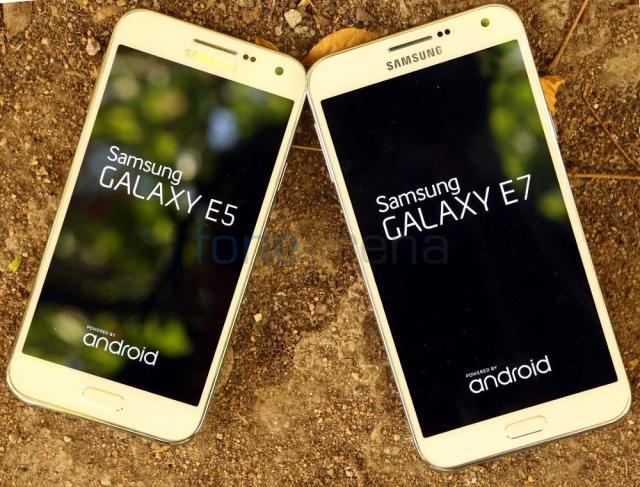 Фотогалерея: Galaxy E5 против Galaxy E7