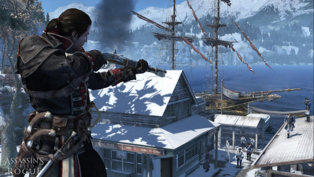 Assassin's Creed Rogue вышел на ПК