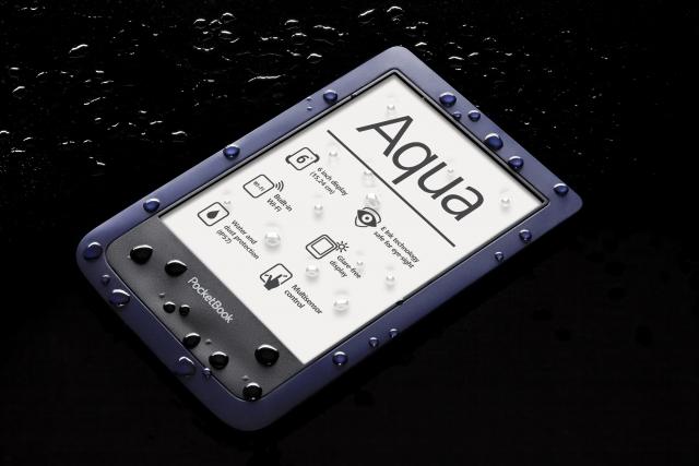 PocketBook Aqua - устойчив к воде