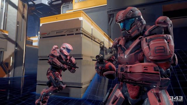 Эксклюзивные кадры геймплея Halo 5: Guardians