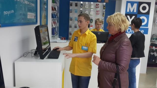MOYO открывает центр обслуживания интернет-покупок в Николаеве