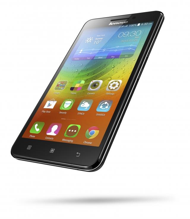 Lenovo A5000 - новый смартфон с мощным аккумулятором