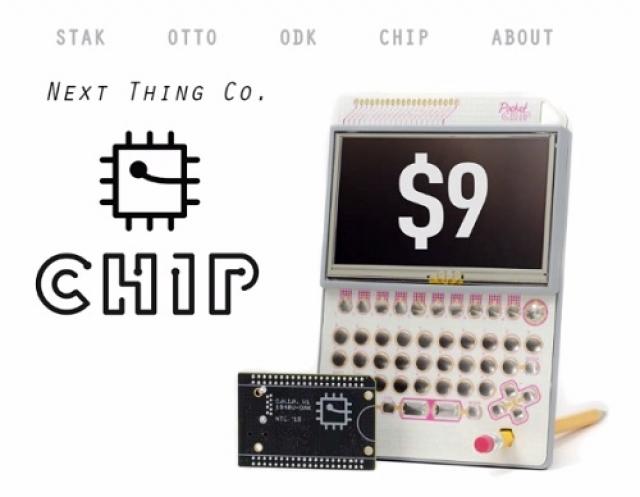 C.H.I.P. — первый в мире компьютер за 9$