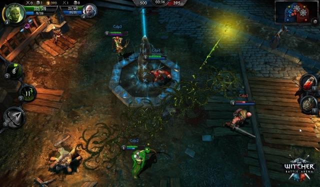 Battle Arena для Ведьмака выходит на iOS и Android