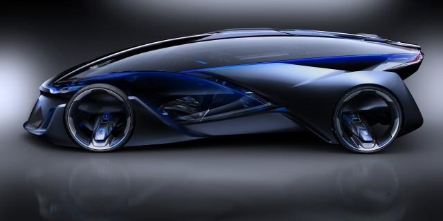Концепт суперкара Chevrolet FNR воплощает научную фантастику в жизнь