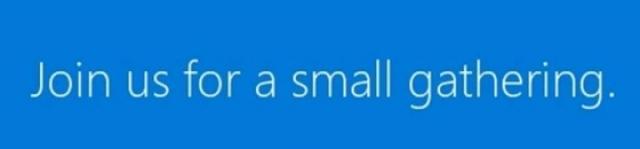 Microsoft проведет небольшой ивент для презентации небольшого Surface