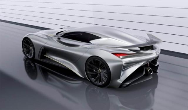 Infiniti представила шикарную концепцию суперкара для Gran Turismo 6