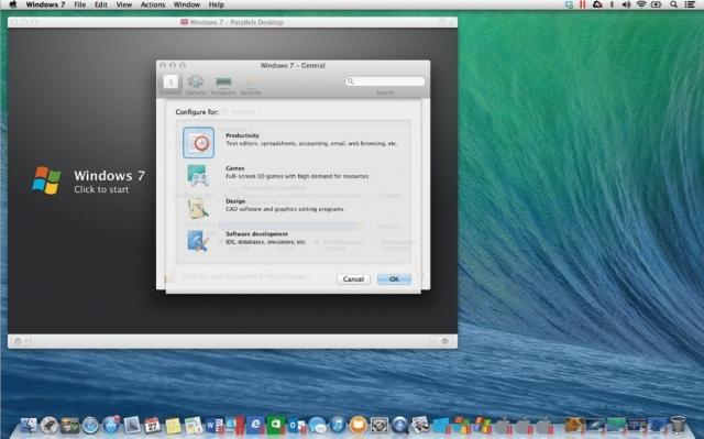 Parallels Desktop 10 для Mac