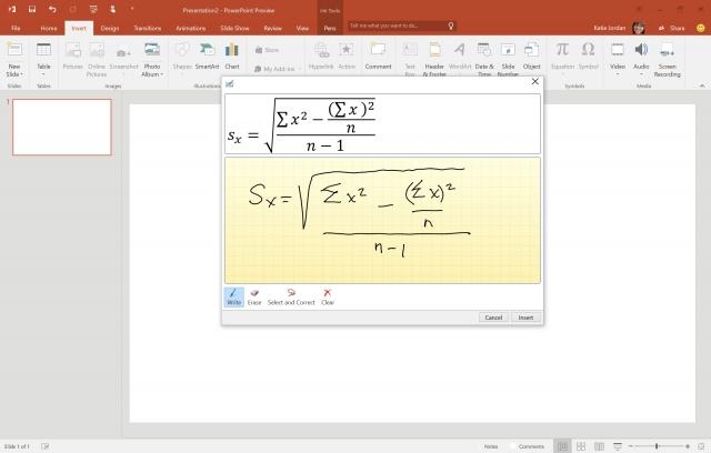 Новые функции Microsoft Office 2016