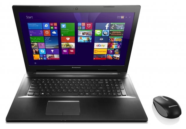 Ноутбук Lenovo Z7080: звук высокого качества, дисплей стандарта Full HD и новый процессор