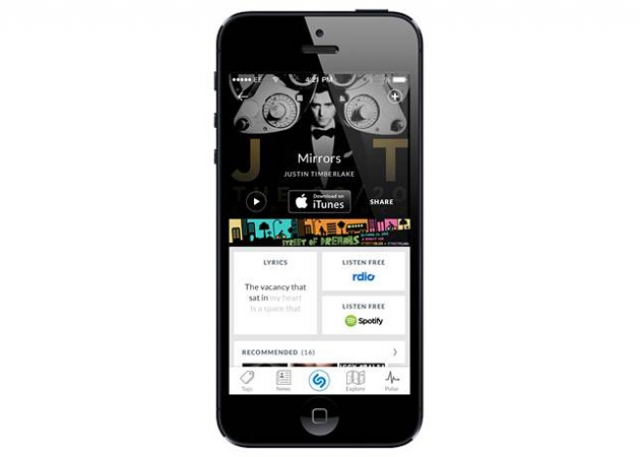 Bloomberg: Apple хочет внедрить Shazam в iOS
