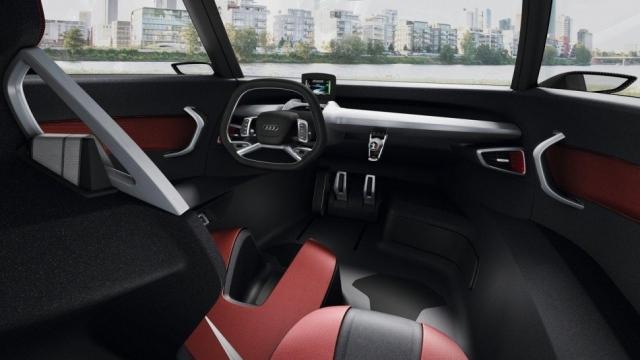Audi планируют выпустить новый сити-кар, оснащенный двигателем Ducati