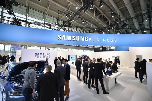 Решения для бизнес-отраслей от Samsung Business на CeBIT 2015