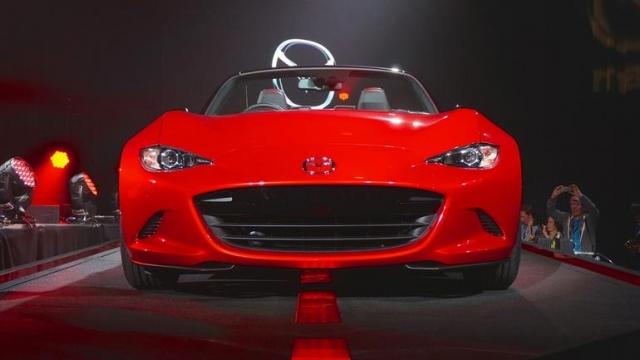 Mazda использует инновационный биопластик для производства спортивного MX-5 Miata