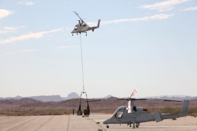 Беспилотный вертолет, который может транспортировать раненых, контролируется с помощью планшета