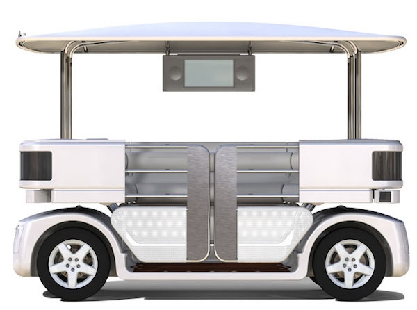 Великобритания разрешит автопилотные автомобили в городах в 2015 году.