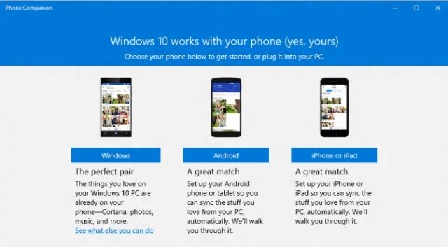 Microsoft развивает поддержку iOS и Android на Windows 10