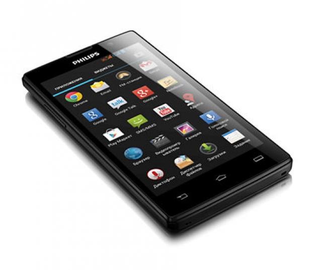 Смартфон Philips W3500 на Android