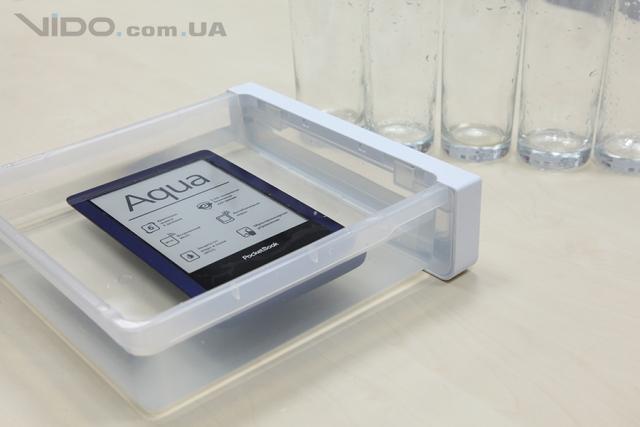 Ice-тест ридера PocketBook Aqua: выживет ли он в морозилке?