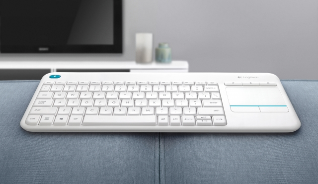 Новая клавиатура Logitech Wireless Touch Keyboard K400 Plus