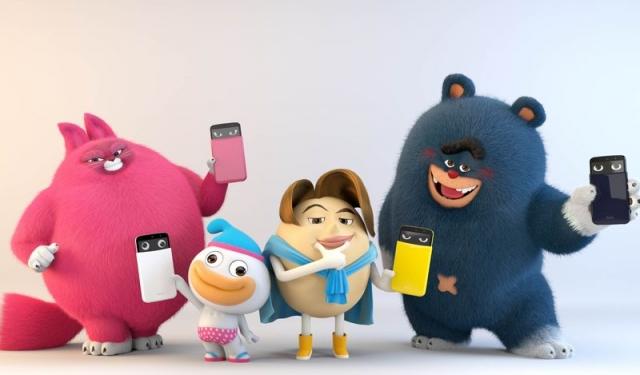 """LG AKA - """"эмоциональный"""" смартфон с необычным дизайном"""