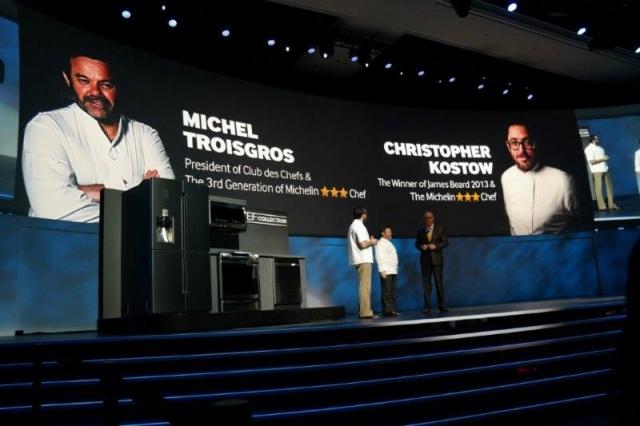 Samsung на CES 2014: дугообразные UHD-телевизоры, бытовая техника и планшеты