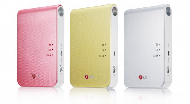 Новая версия LG Pocket Photo 2.0: меньше, но продуктивнее