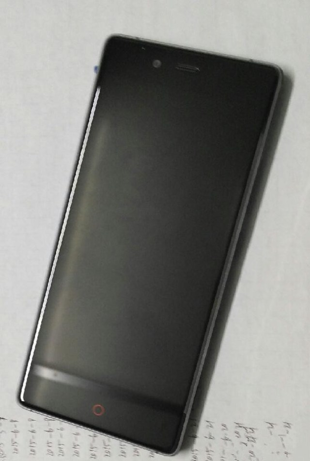 Просочившиеся фотографии смартфона Nubia Z9