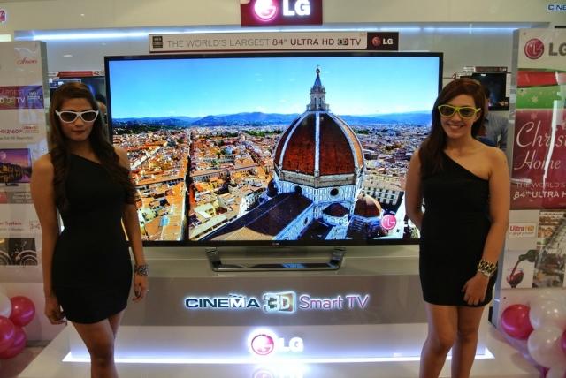 Широкая линейка новых коммерческих телевизоров LG