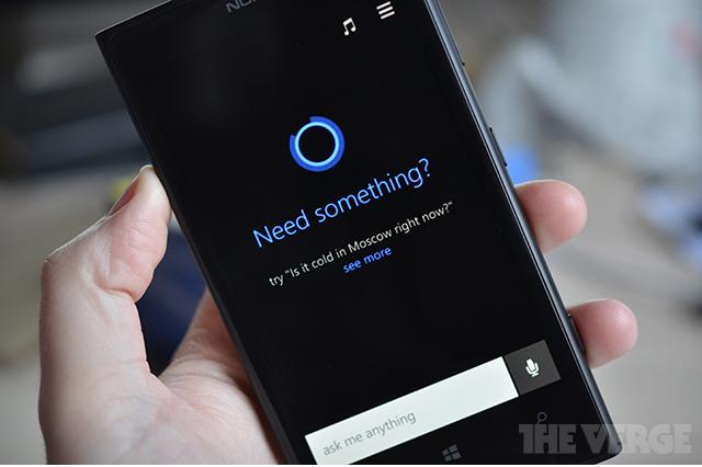 В сети появились фото виртуального ассистента Cortana — ответа Microsoft на Siri