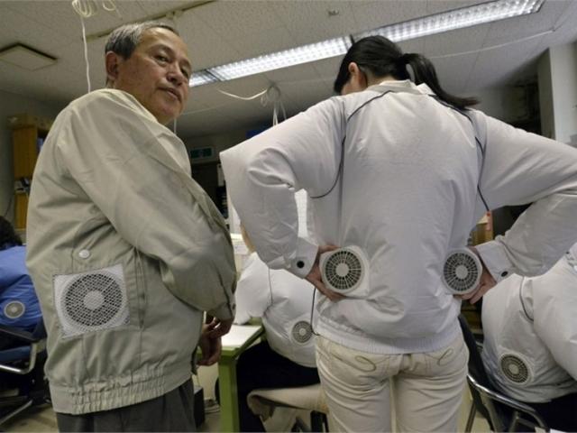 Японская одежда с воздушным кондиционированием