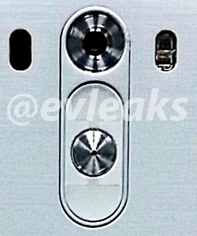 Кнопки LG G3 крупным планом