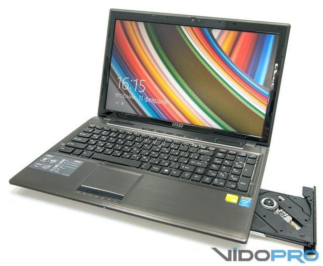 Ноутбук MSI CX61: мультимедийный компаньон