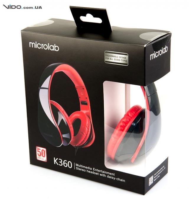 Обзор гарнитуры Microlab K360: ломай стереотипы