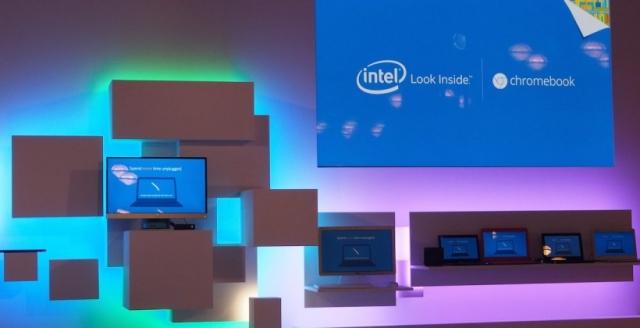 Intel представила новые мощные «хромбуки»